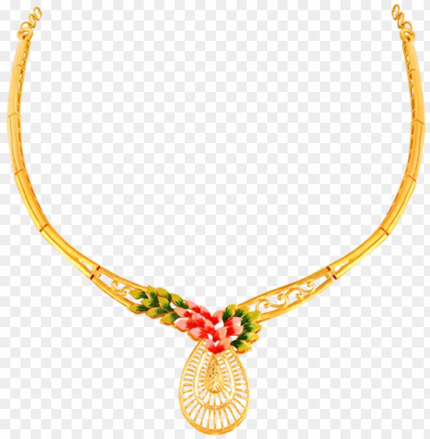 free PNG old necklace designs in 15 grams - 16 gram gold necklace designs PNG image with transparent background PNG images transparent