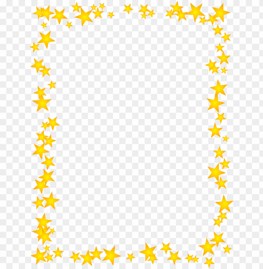 free PNG old stars scattered border borders for paper, borders - star border PNG image with transparent background PNG images transparent
