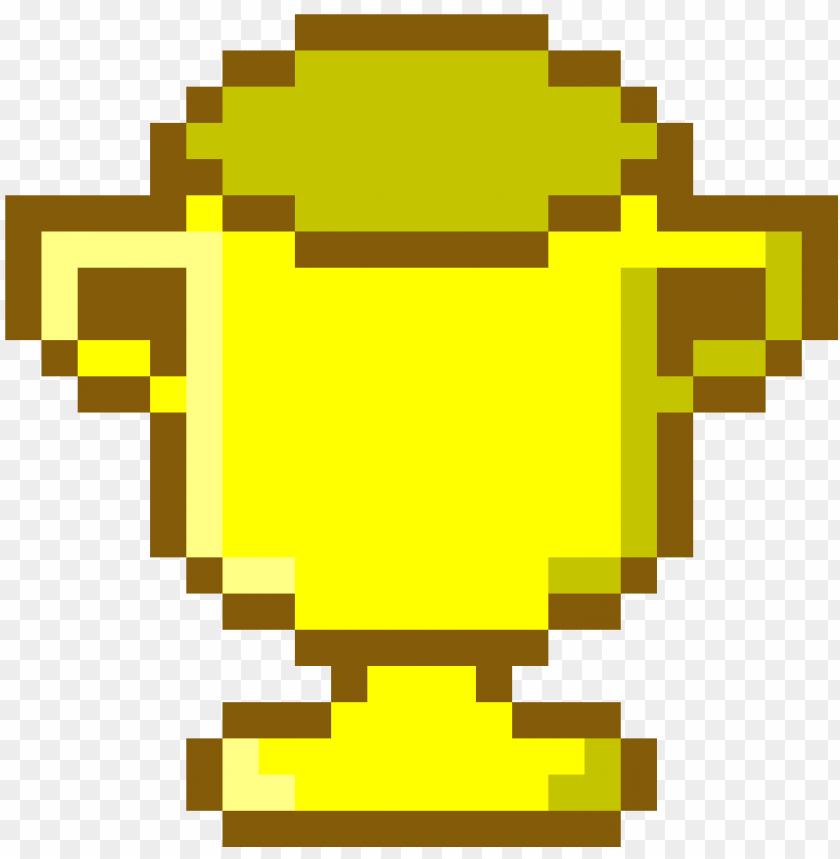 Old Trophy Pixel Art Deadpool Logo Png Image With