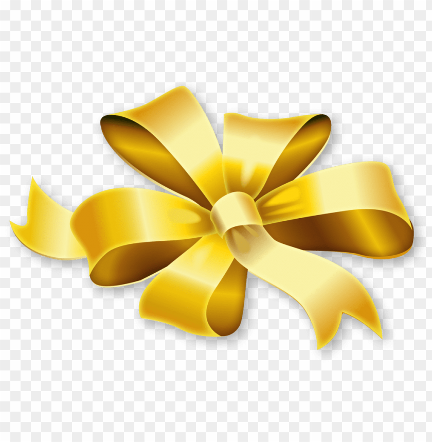 free PNG olden bow ribbon transparent image - gold ribbon png transparent PNG image with transparent background PNG images transparent