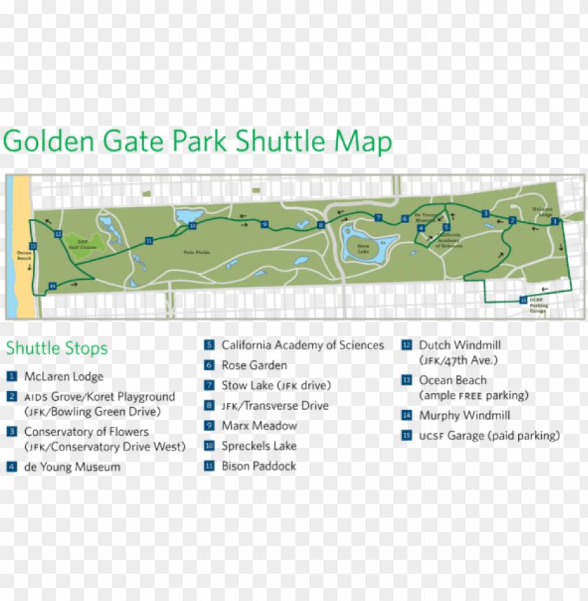 free PNG olden gate park shuttle map - golden gate park rose garde PNG image with transparent background PNG images transparent