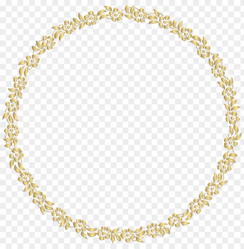 free PNG olden round frame png image - golden round frame PNG image with transparent background PNG images transparent
