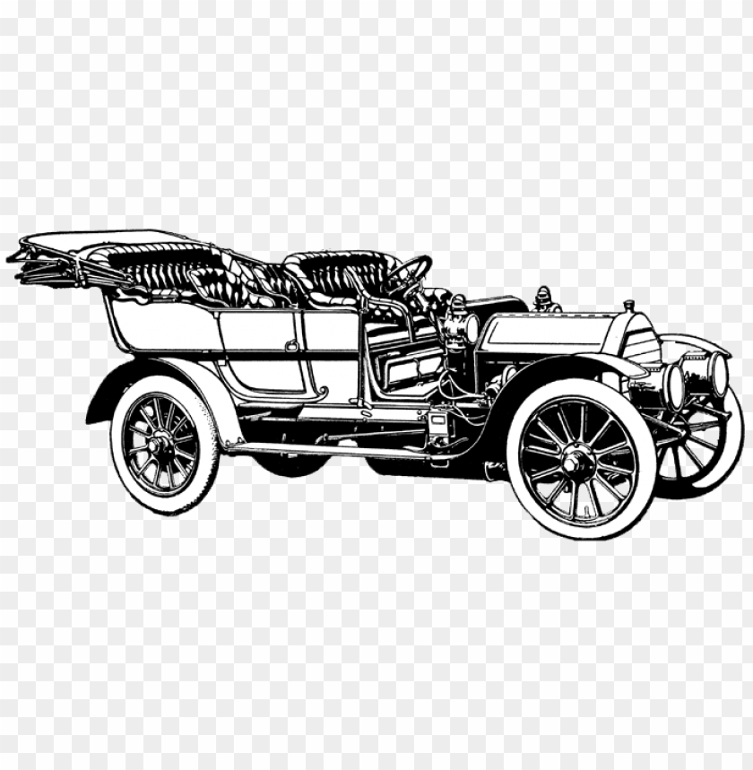 Download oldtimer bw illustration png images background@toppng.com
