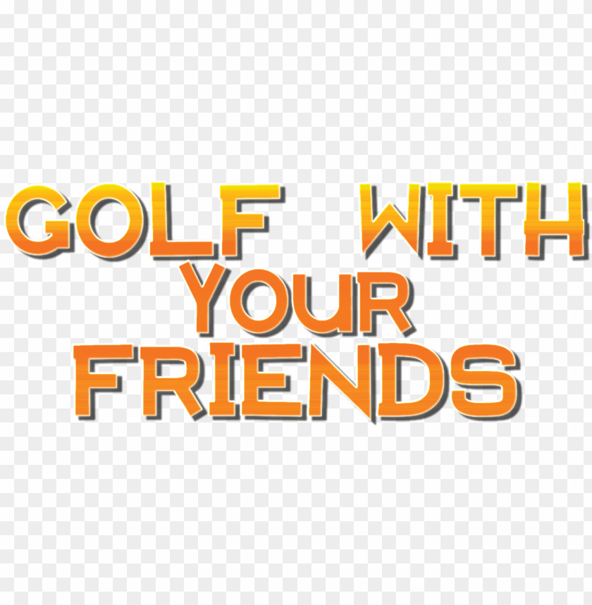 free PNG olf with friends logo png - golf with your friends logo PNG image with transparent background PNG images transparent