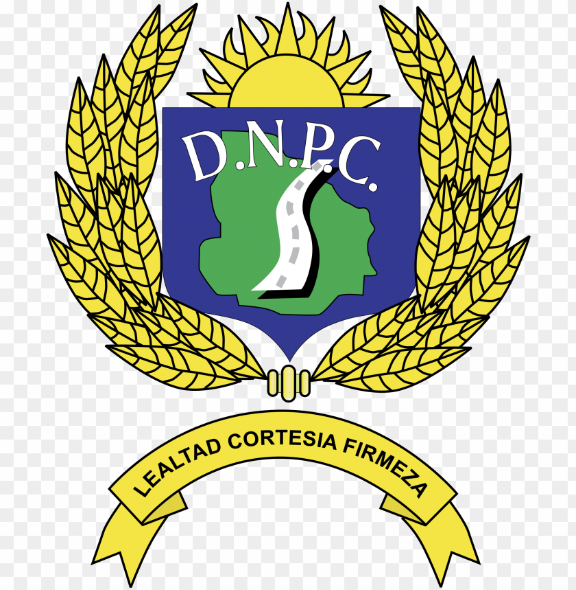 free PNG olicia caminera uruguay logo png transparent - policia caminera logo PNG image with transparent background PNG images transparent