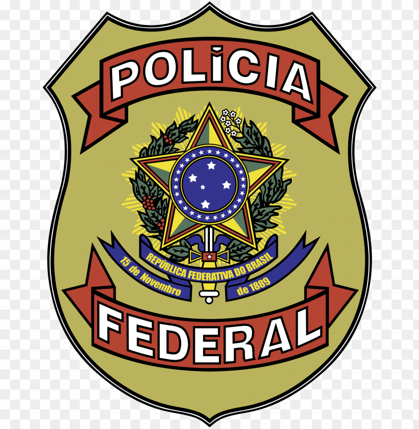free PNG olicia federal logo png transparent - policia federal PNG image with transparent background PNG images transparent