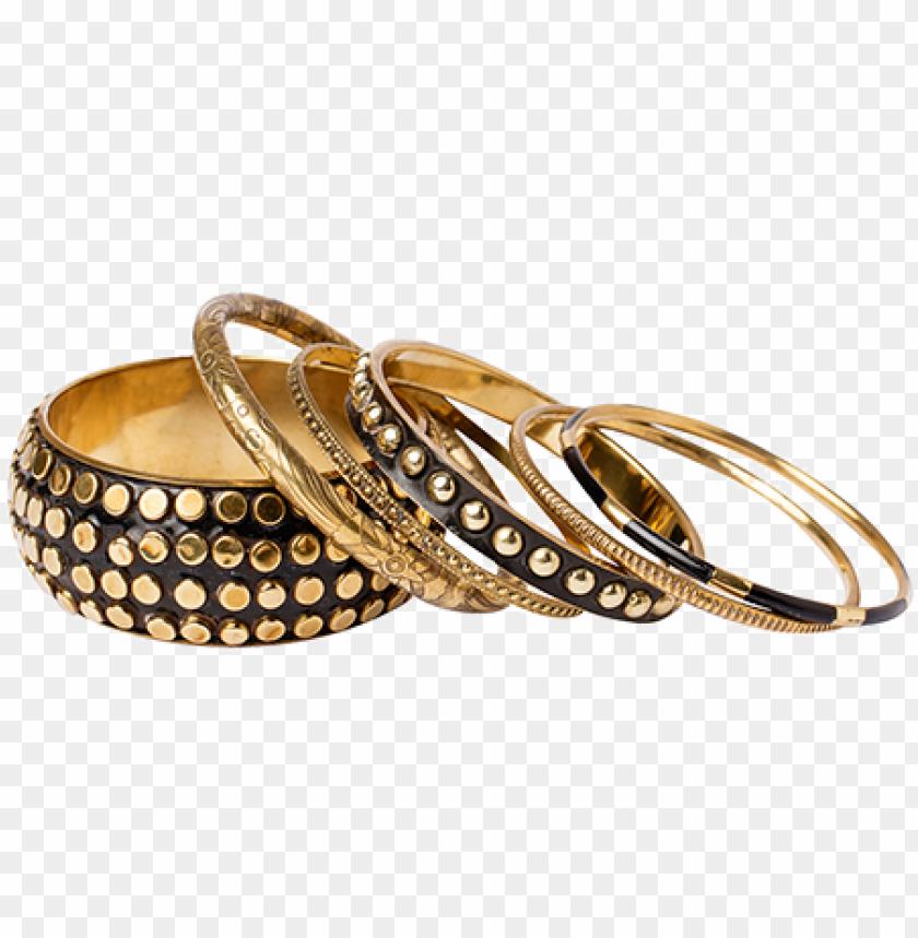 free PNG olka dot gold bangles - wedding ri PNG image with transparent background PNG images transparent