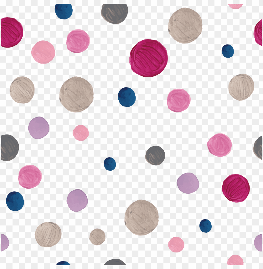 free PNG olka dot watercolor painting pattern - watercolor painti PNG image with transparent background PNG images transparent