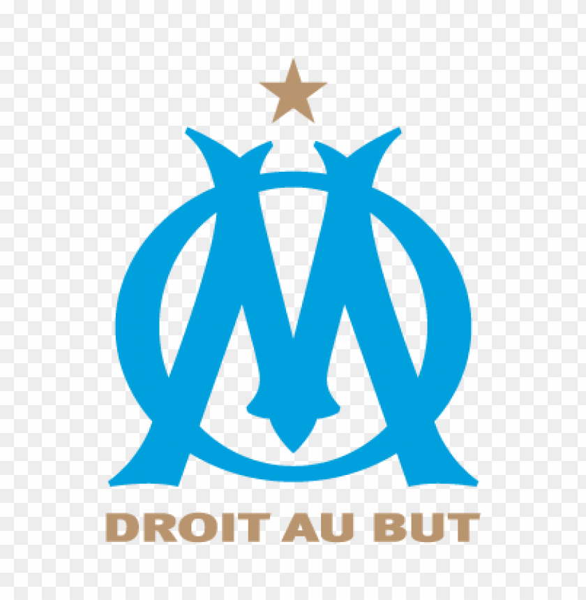 free PNG olympique de marseille fc logo vector PNG images transparent