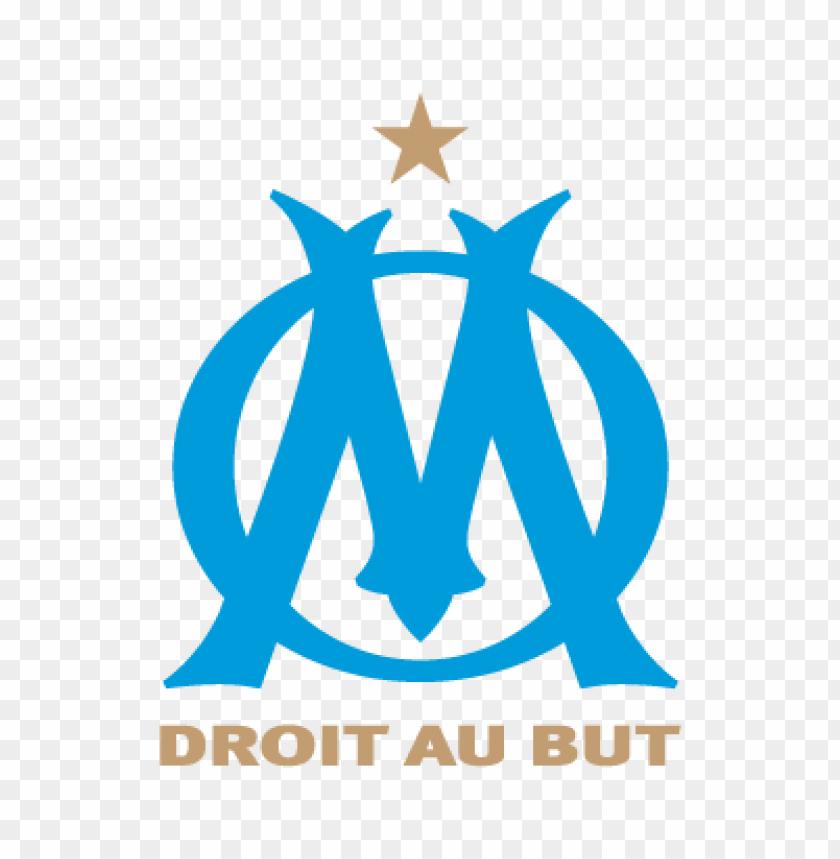 free PNG olympique de marseille vector logo PNG images transparent