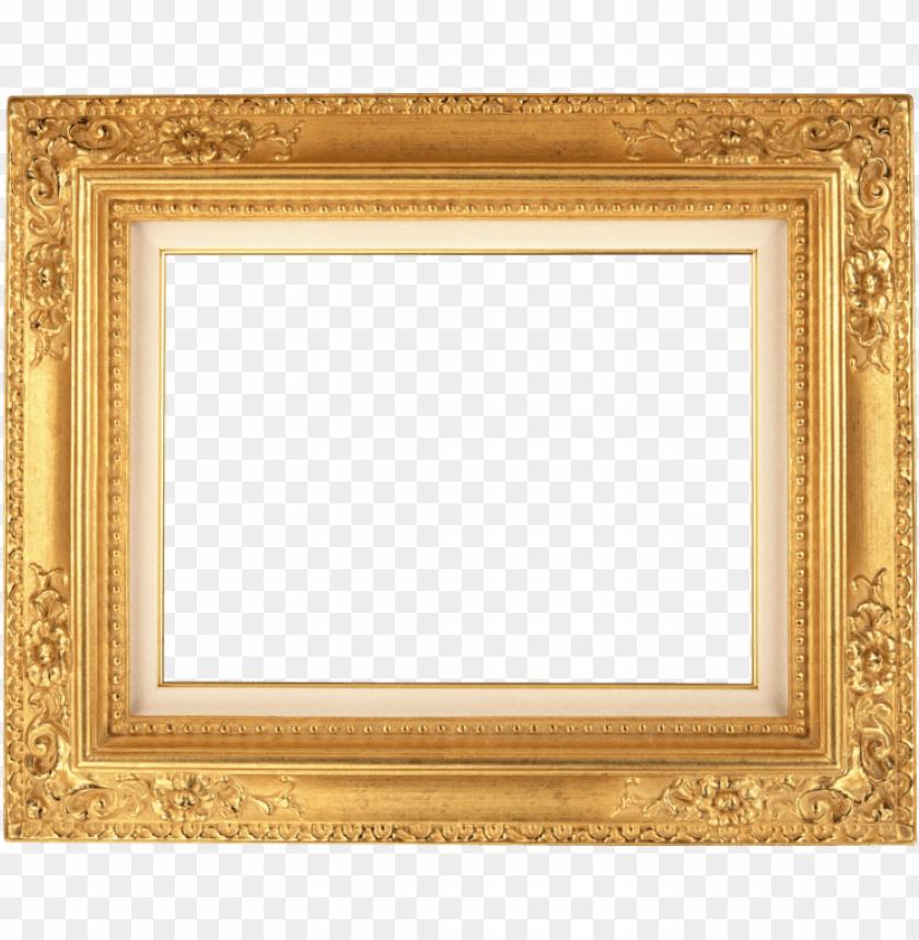 free PNG olyurethane picture frame sizes, door frame, standard - กรอบ รูป สี ทอง PNG image with transparent background PNG images transparent