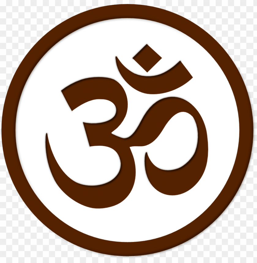 free PNG om simbolo symbol aum yoga namaste peace sign cnd logo - om symbol in circle PNG image with transparent background PNG images transparent