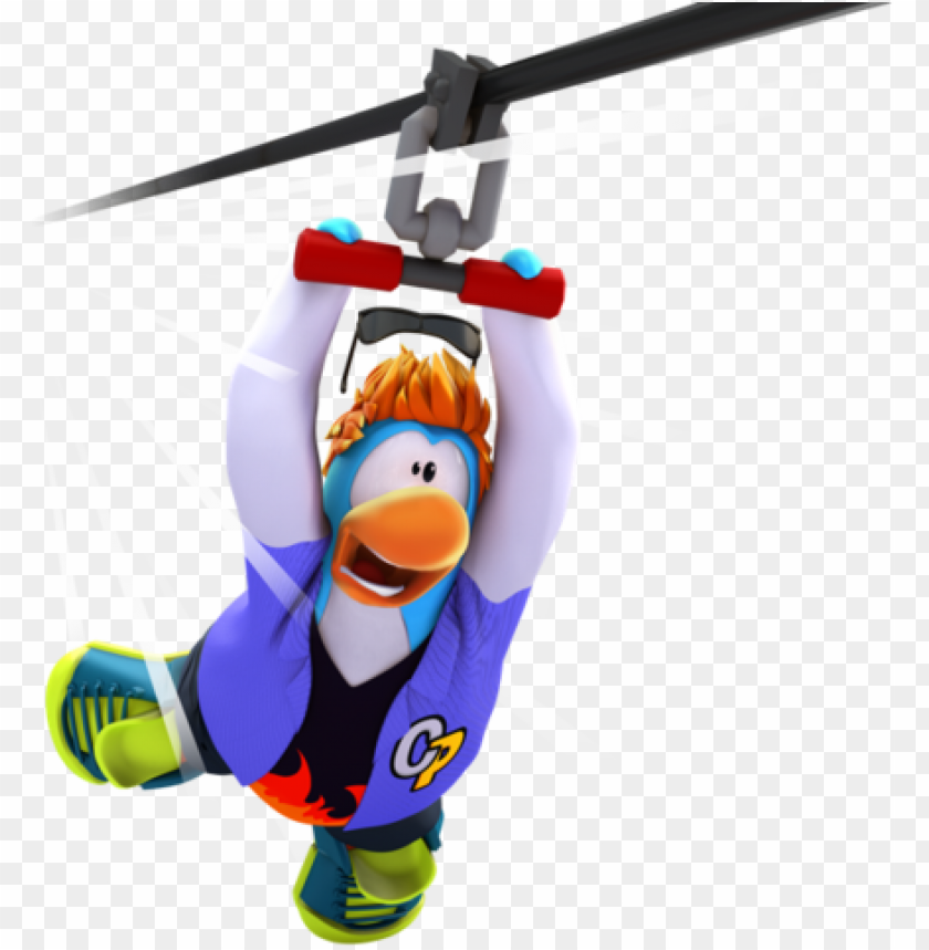 free PNG on-members can now use ziplines on club penguin island - club penguin island PNG image with transparent background PNG images transparent