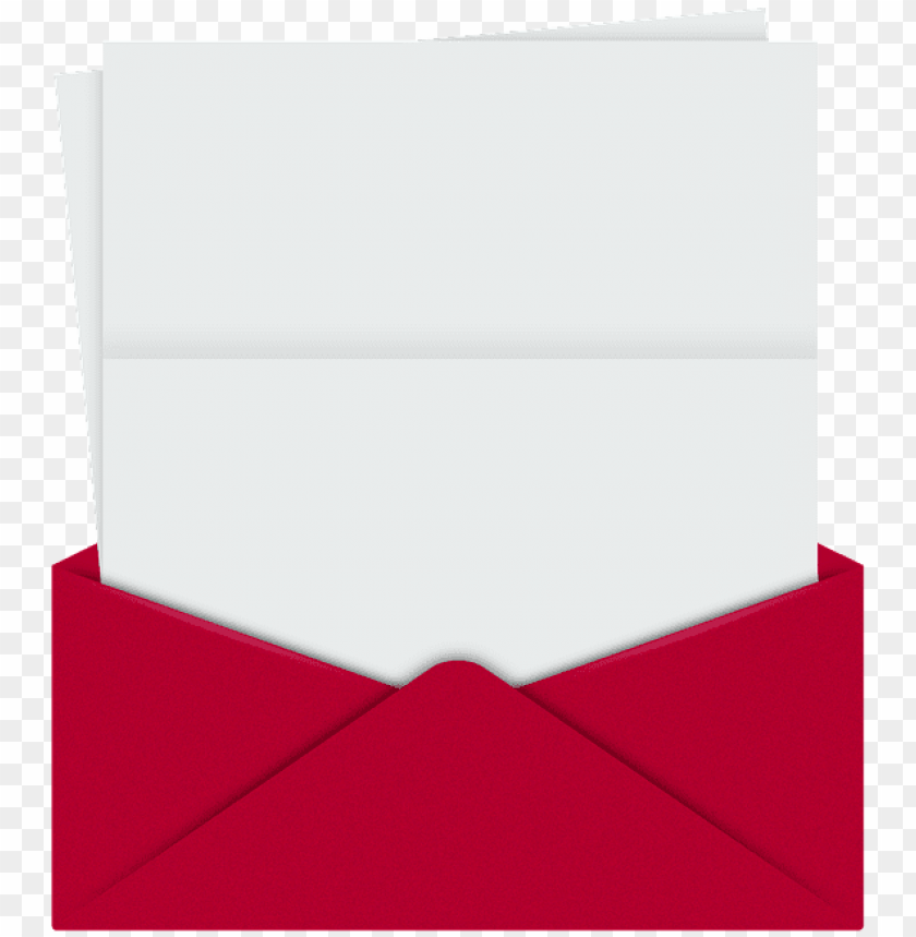 free PNG on red envelope an open letter to - letter coming out of envelope PNG image with transparent background PNG images transparent