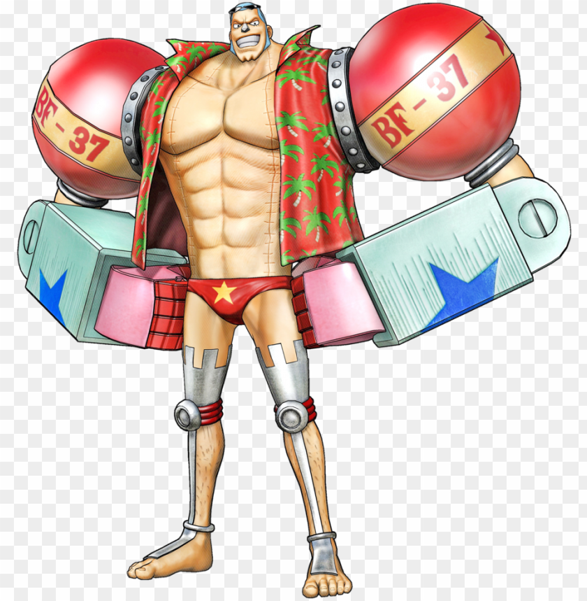 free PNG one piece clipart franky - one piece pirate warriors franky PNG image with transparent background PNG images transparent