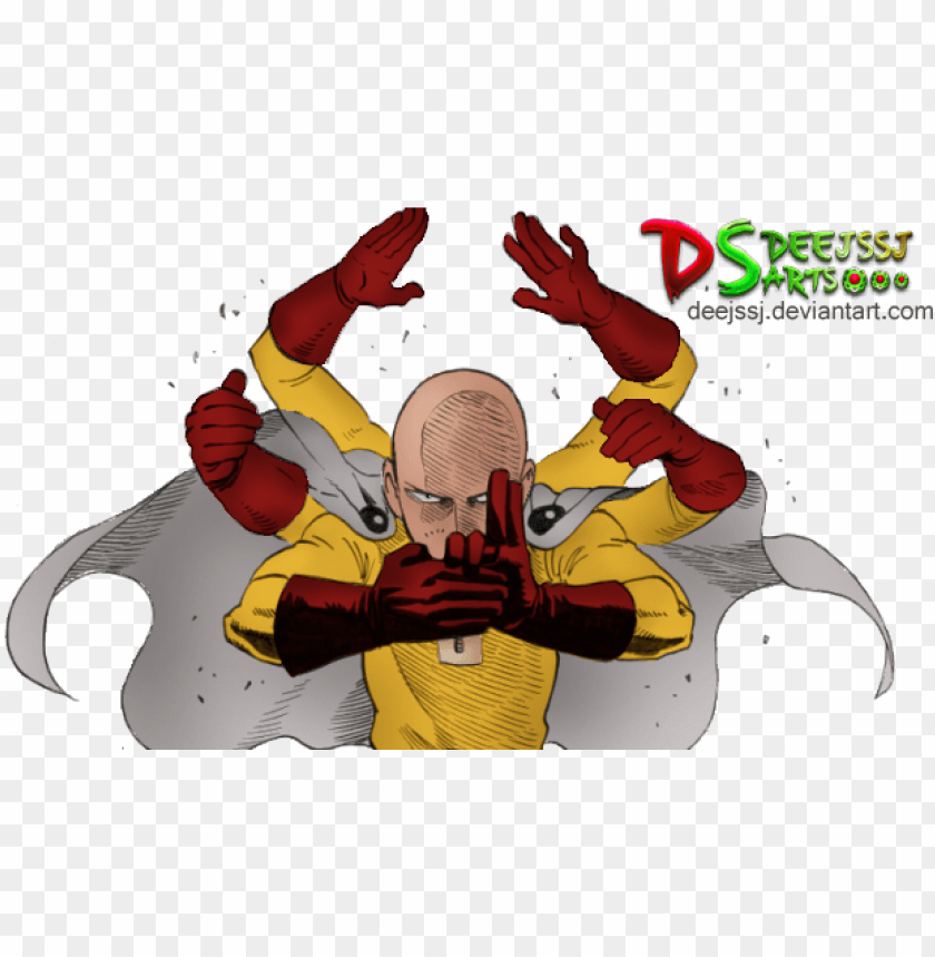 free PNG one punch man render by deejssj on - one punch man render PNG image with transparent background PNG images transparent