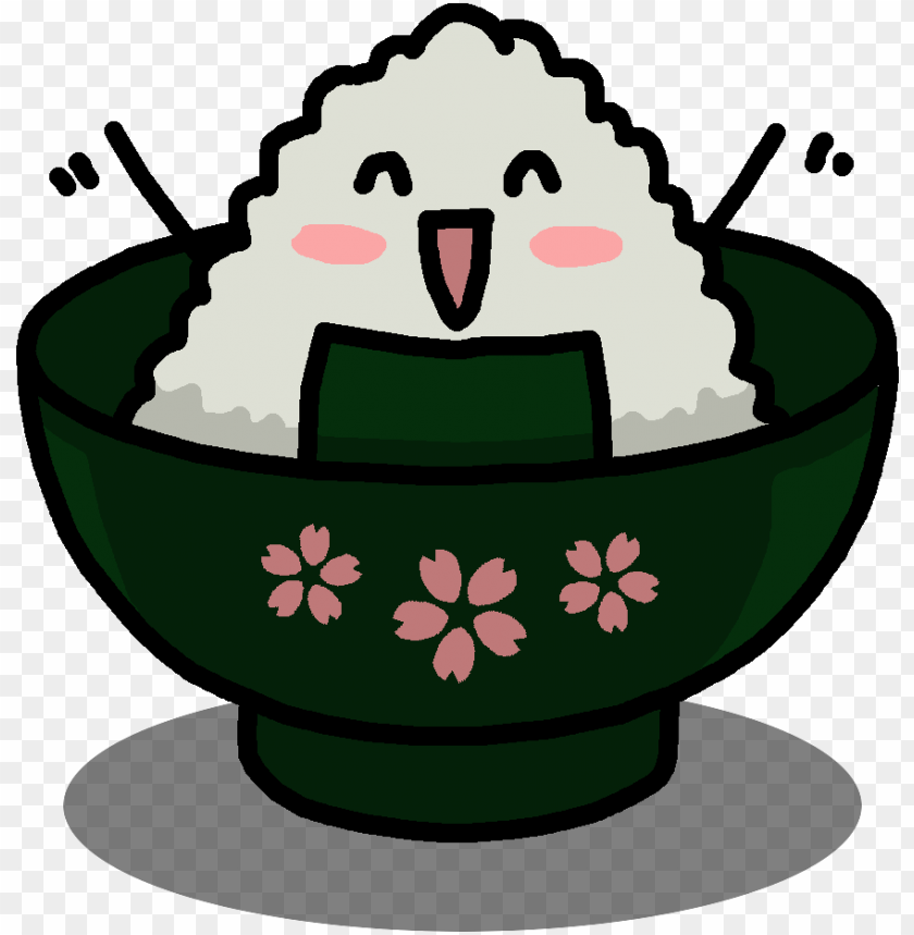 onigiri everyday life - cartoo PNG image with transparent background@toppng.com