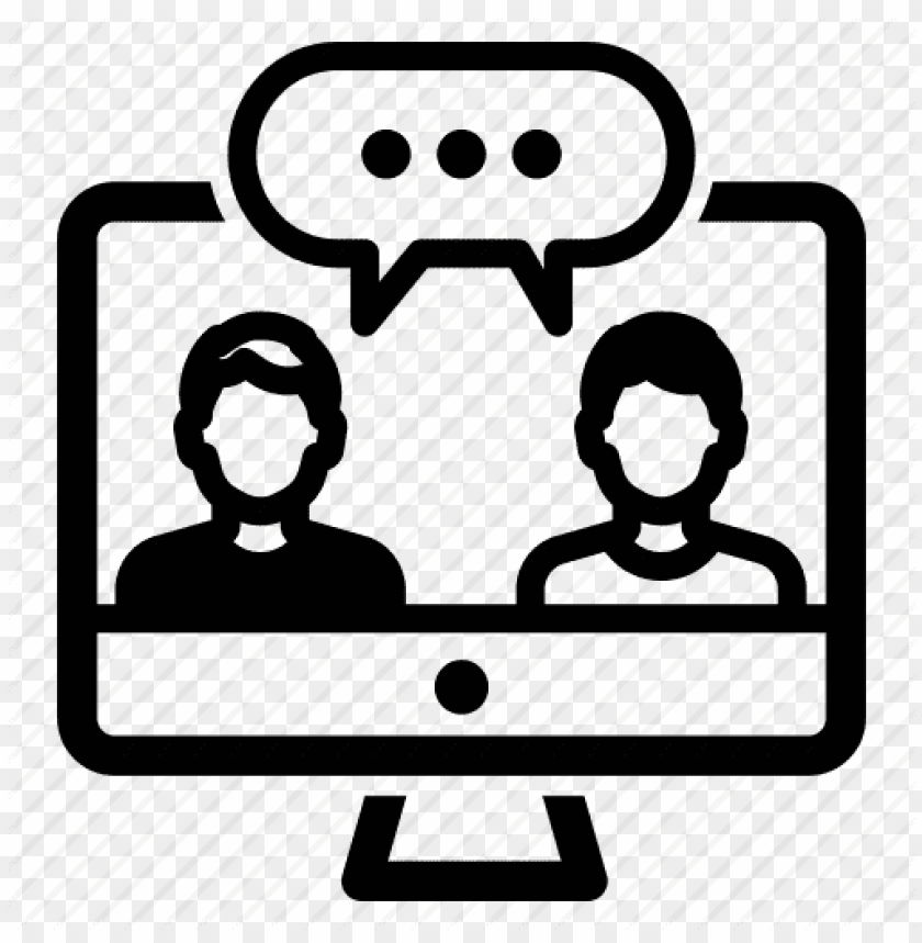 Online Chat Icon Png Png Image With Transparent Background Toppng