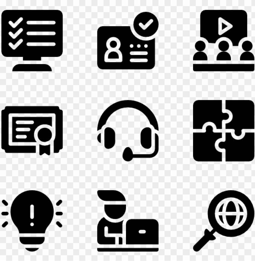 Online Learning 50 Icons Coaching Icons Png Free Png Images Toppng