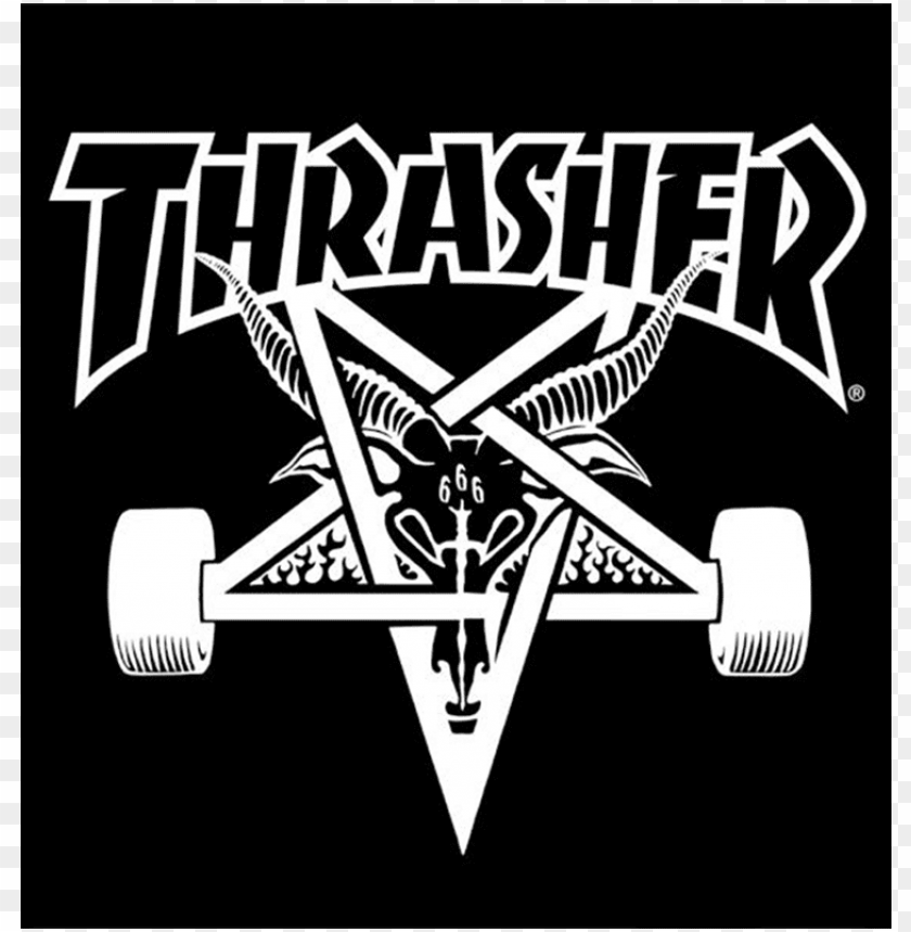 Ood Wallpaper Fire Thrasher Thrasher Magazine Logo Png Image With Transparent Background Toppng