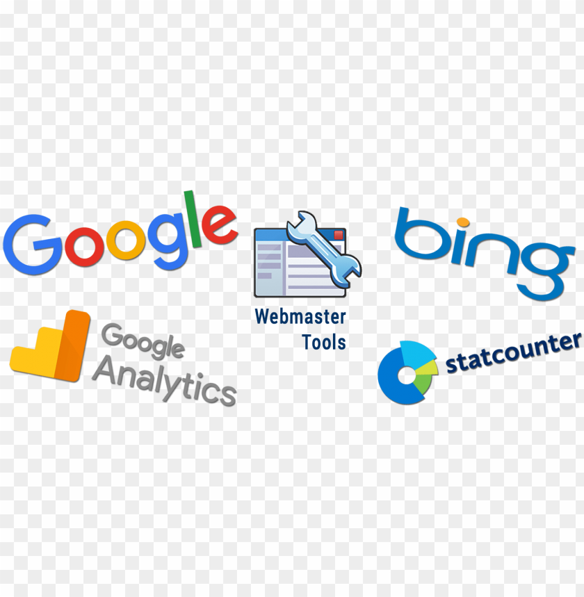 free PNG oogle bing statcounter webmaster tools - google logo PNG image with transparent background PNG images transparent