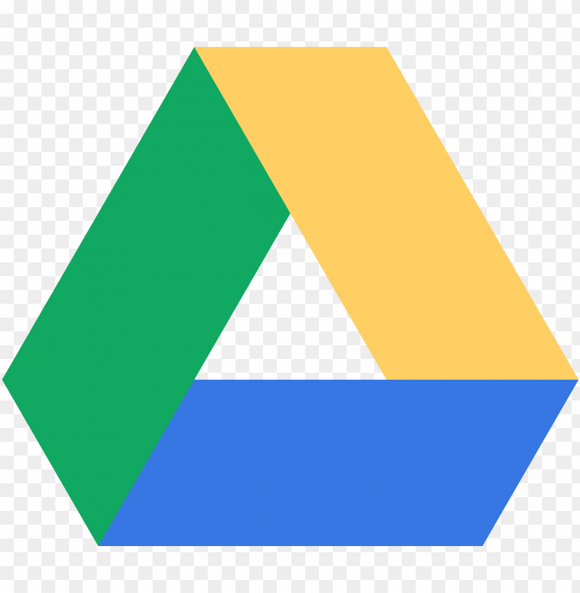 free PNG oogle drive - google drive logo PNG image with transparent background PNG images transparent