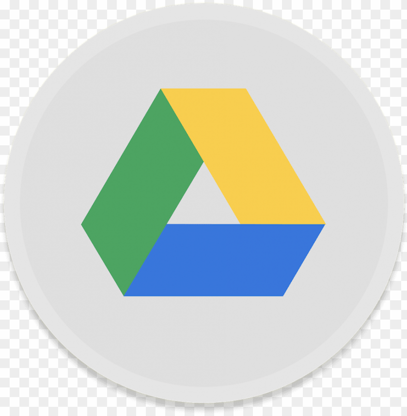 free PNG oogle drive icon - google drive logo round PNG image with transparent background PNG images transparent