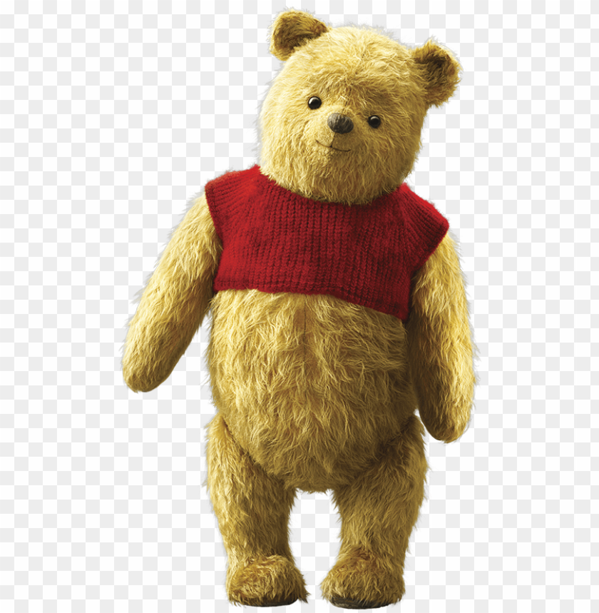 Ooh Live Action Winnie Pooh 2018 Png Image With Transparent