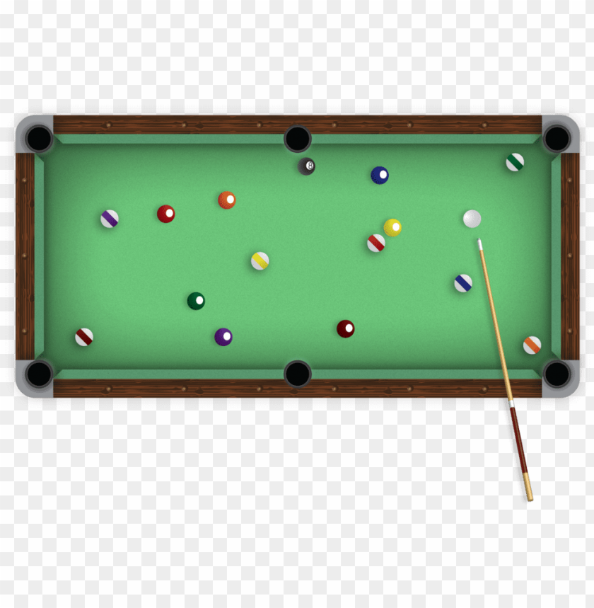 free PNG ool table top view png - pool table top PNG image with transparent background PNG images transparent