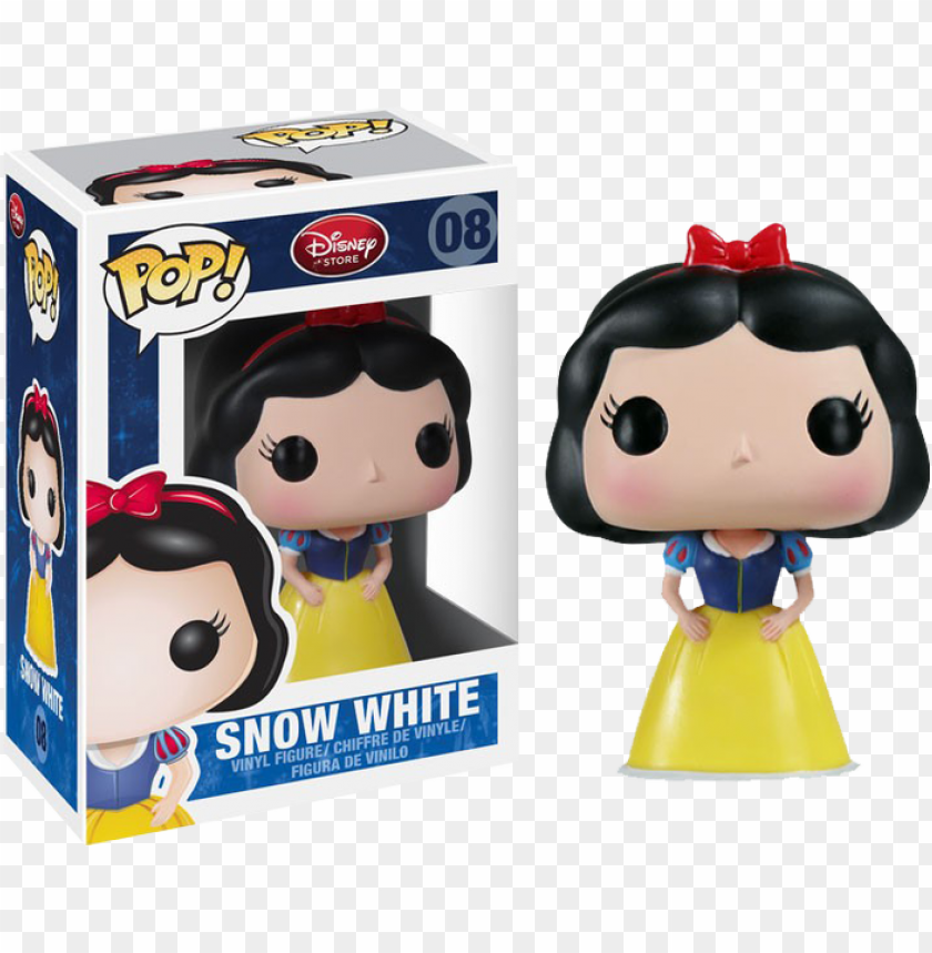 op disney snow white - funko pop disney snow white vinyl figure PNG image with transparent background@toppng.com