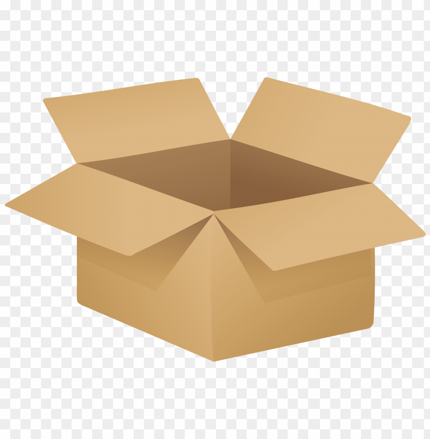 free PNG Download open cardboard box clipart png photo   PNG images transparent