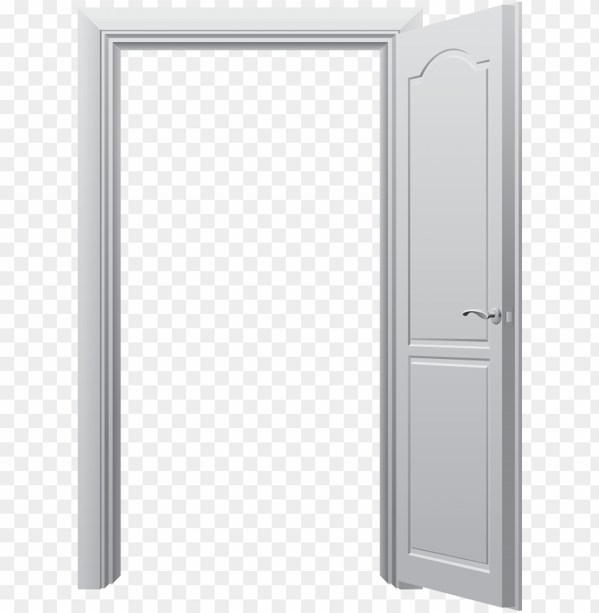 free PNG open door png clip art - white open door PNG image with transparent background PNG images transparent