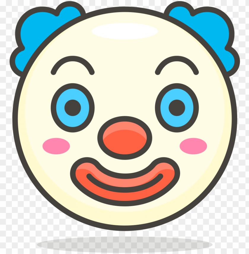 free PNG open - emoji badut PNG image with transparent background PNG images transparent