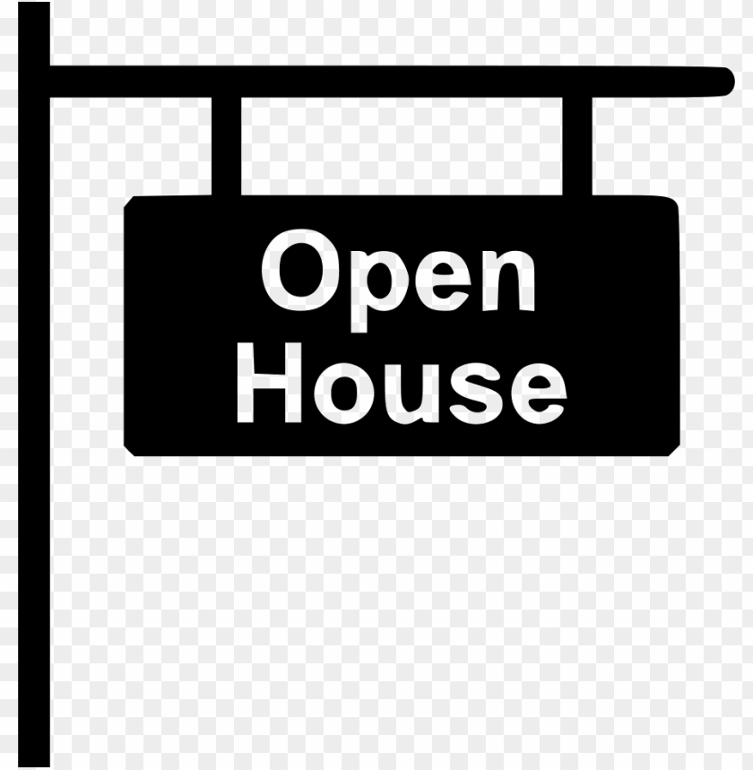 free PNG open house sign - open house icon PNG image with transparent background PNG images transparent