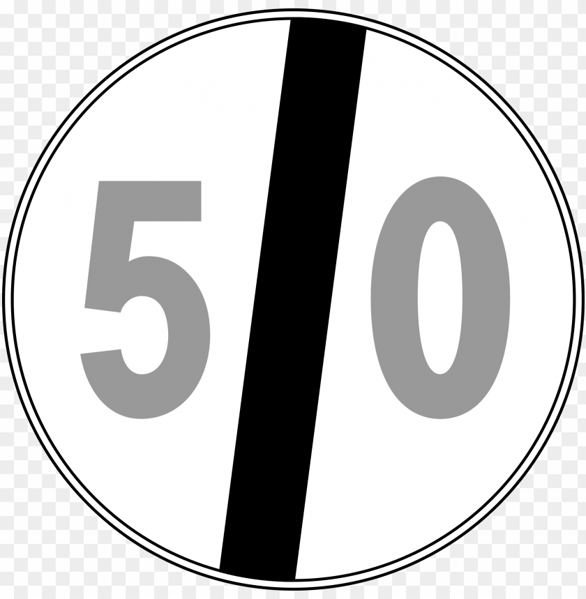 free PNG open - speed limit signs italy PNG image with transparent background PNG images transparent