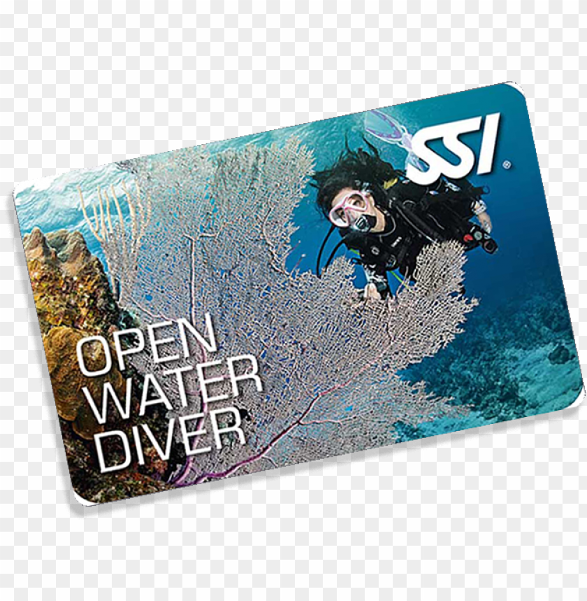 free PNG open water diver - ssi - open water manual - 2016 PNG image with transparent background PNG images transparent
