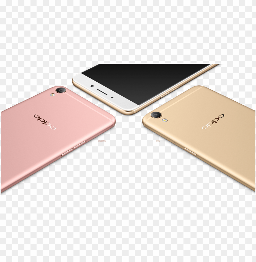 free PNG oppo f1 plus rose gold vs gold PNG image with transparent background PNG images transparent