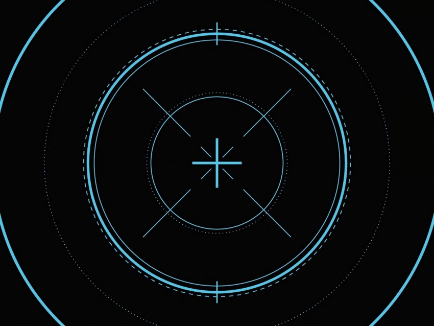 free PNG optical sight, lens, marking, circles, lines, center background PNG images transparent
