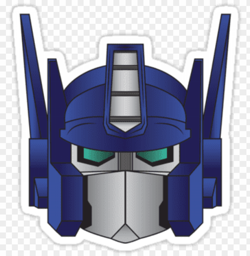 free PNG optimus prime face cartoon - transformers cartoon optimus prime face PNG image with transparent background PNG images transparent