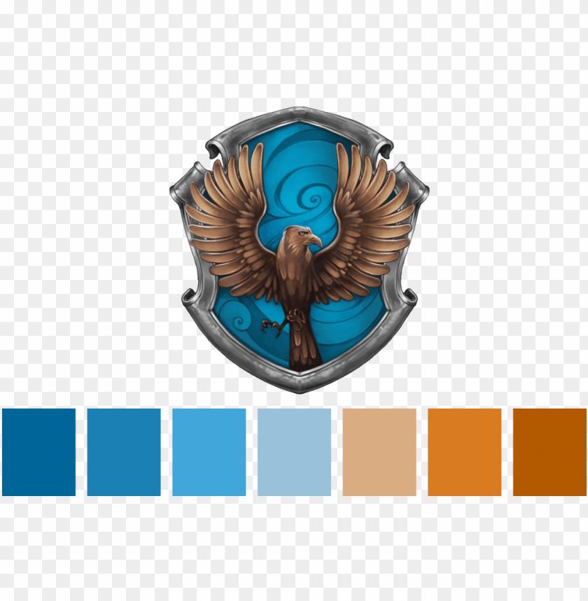 "free PNG option = ""ravenclaw"" - harry potter ravenclaw logo PNG image with transparent background PNG images transparent"