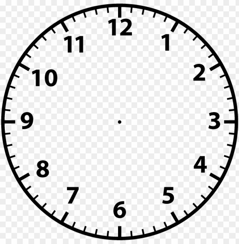 opular images - blank analogue clock face PNG image with transparent background@toppng.com