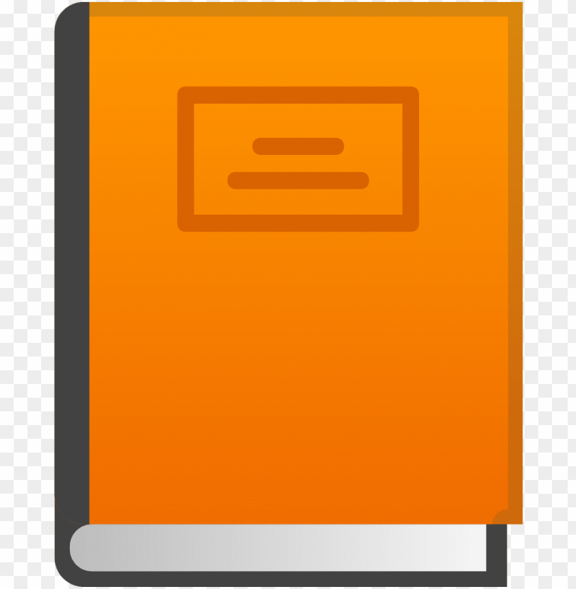 free PNG orange book icon - orange book icon png - Free PNG Images PNG images transparent