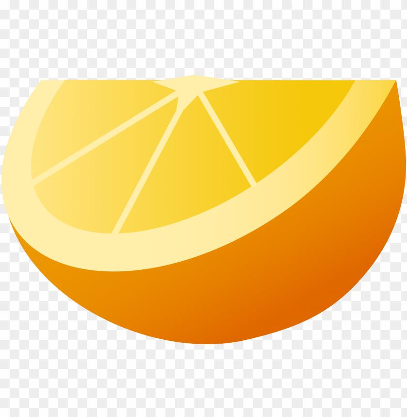 free PNG orange fruit wedge clipart - orange cartoon fruit PNG image with transparent background PNG images transparent