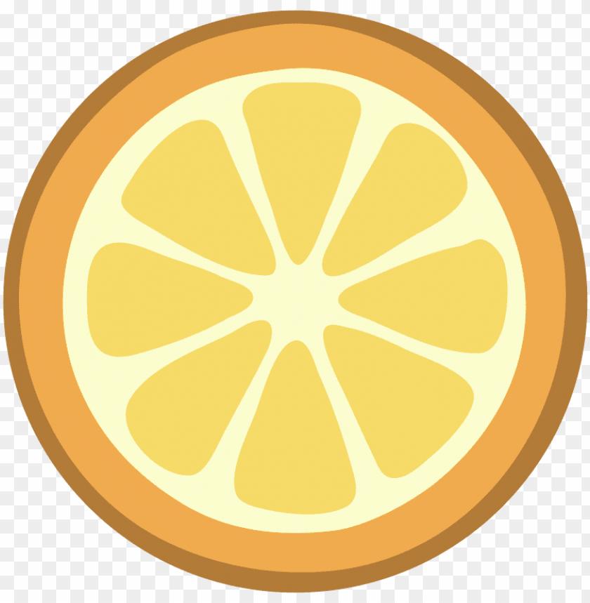 free PNG Download orange halved flat design clipart png photo   PNG images transparent
