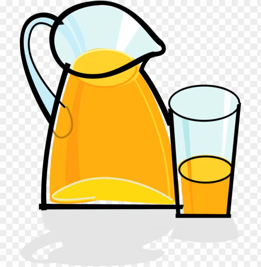 free PNG orange juice pitcher - orange juice clipart PNG image with transparent background PNG images transparent