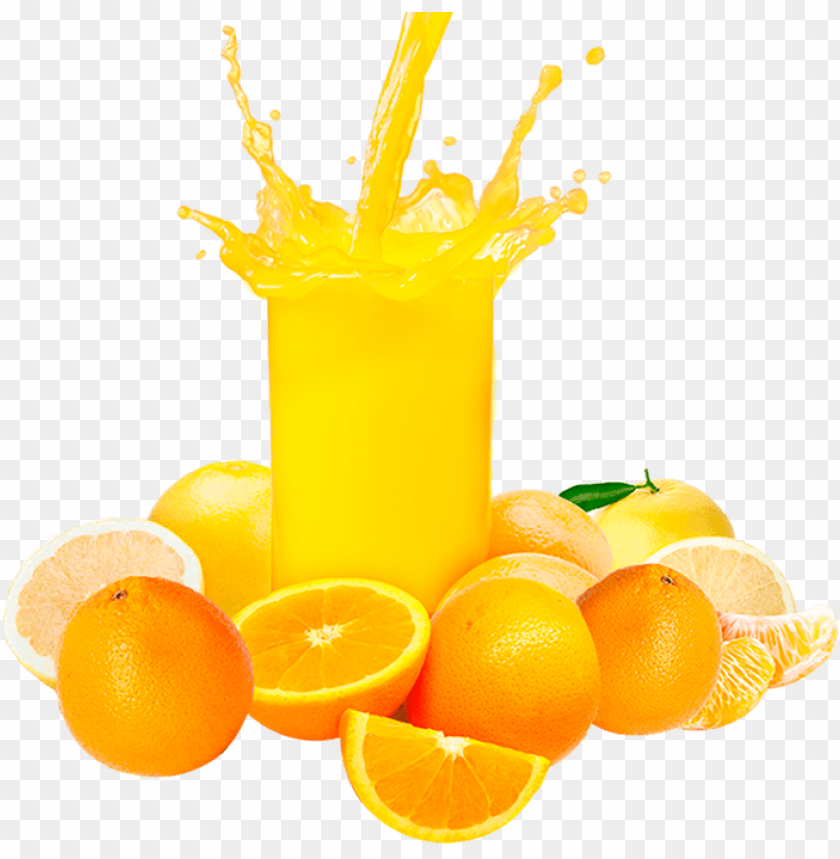 orange juice splash png