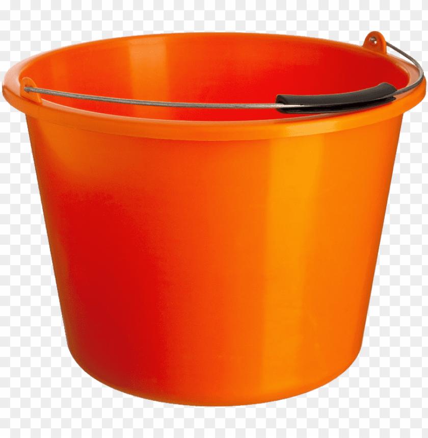 free PNG Download orange plastic bucket png images background PNG images transparent
