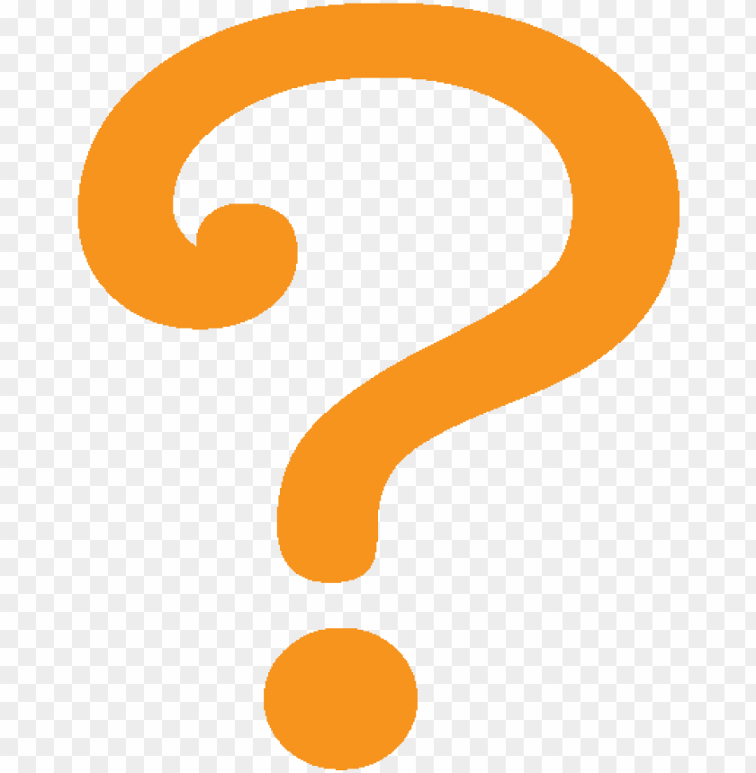 free PNG orange question mark - question mark icon orange PNG image with transparent background PNG images transparent