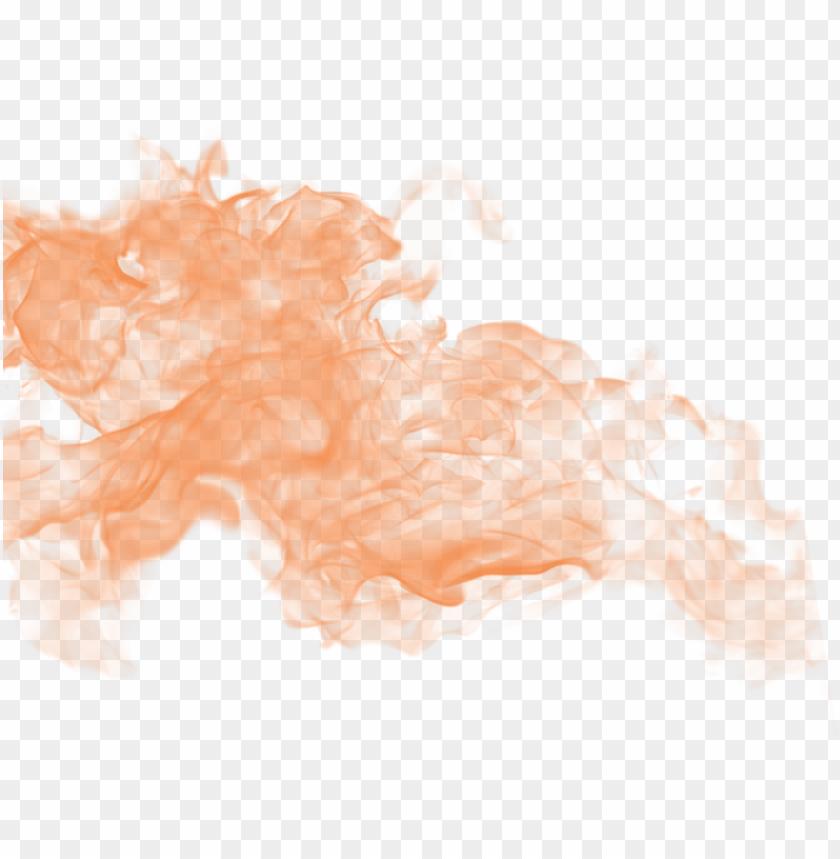 free PNG orange smoke png pic - smoke PNG image with transparent background PNG images transparent