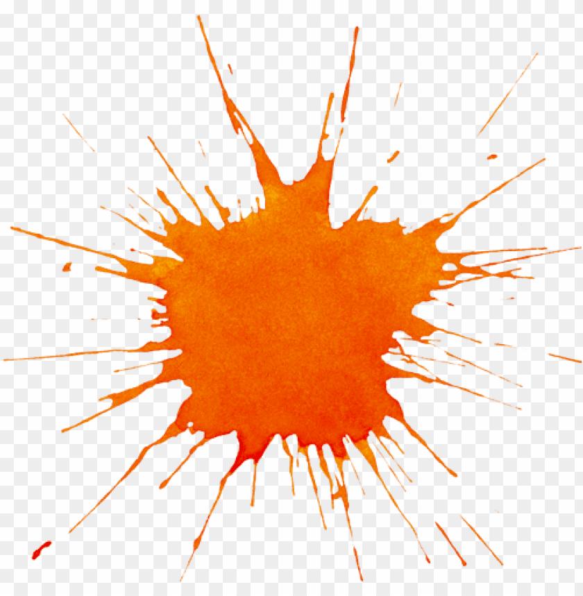 free PNG orange-splat - orange paint splash PNG image with transparent background PNG images transparent